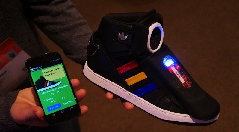 Get Ready For Google's Talking Smart Shoes – Digital Afro