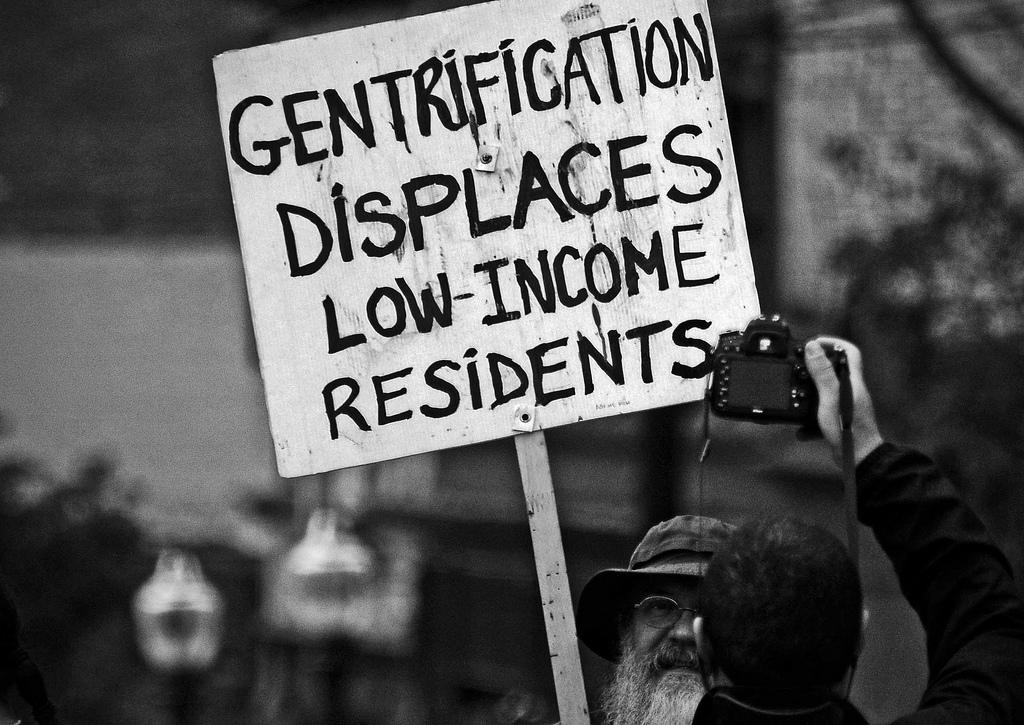 gentrification on low income residents