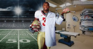 Myron Rolle's Incredible transition from becoming released pro Footballer to Neurosurgeon.