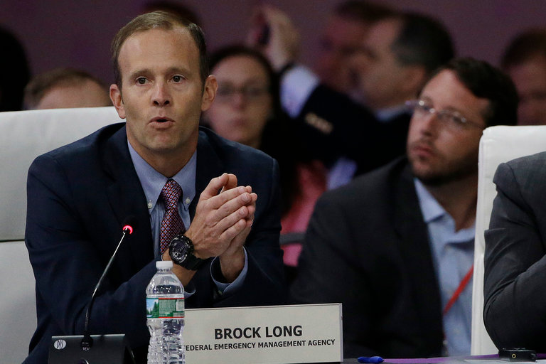 FEMA Director Brock Long only been on the job 2 months as Hurricane Harvey looms