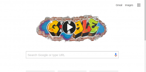 Google Doodle Honoring 44th Anniversary of Hip Hop
