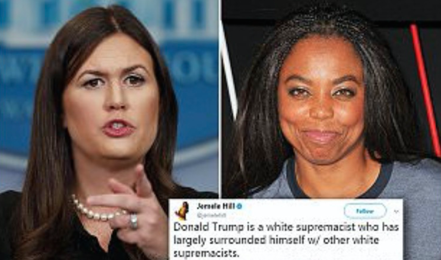 How Sarah Huckabee Sanders Violated Federal Laws by Asking ESPN to Fire Jamelle Hill