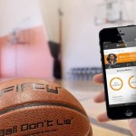Revolutionary basketball, with built in sensors & smartphone app help you drastically improve your game.