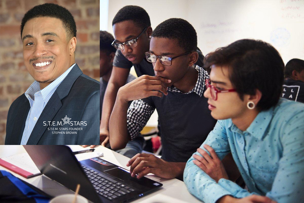 stem-stars-founder-stephen-brown is one of the top african americans in technology