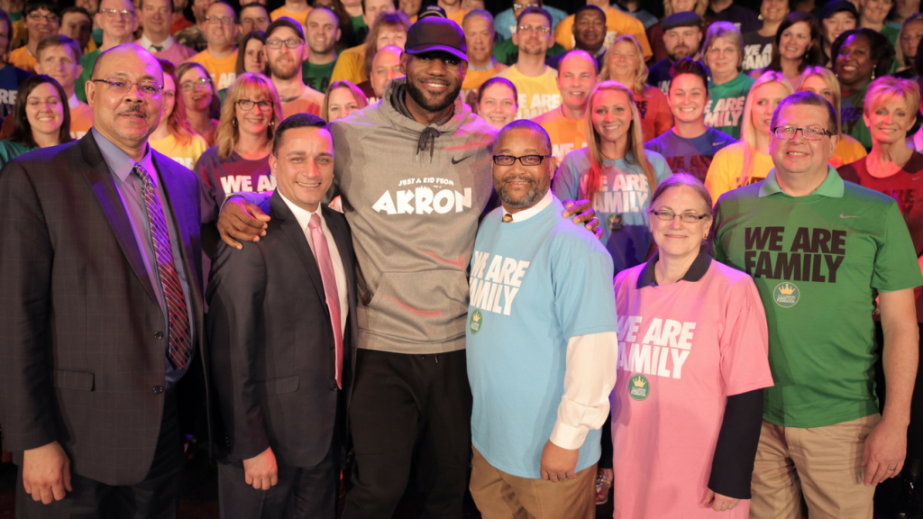 Lebron James opening school in Akron OH, for at-risk-youth