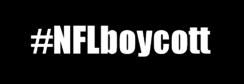 The Boycott NFL Hashtag is trending on twitter and is gaining momentum